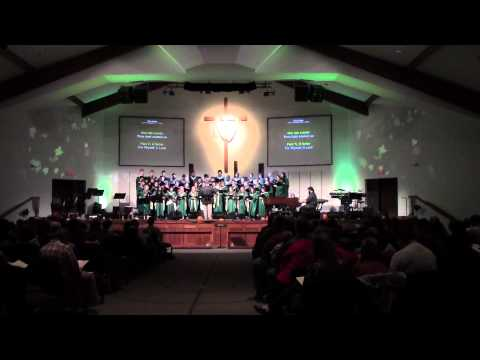 1st video of MVNU COLLEGIANS CHORALE at WESTERVILLE CHURCH of the NAZARENE