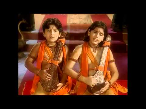 Luv & Kush Singing Ramayan for Lord Rama [Full Song] Brave Sons of Mother Sita Lav and Kush Ramayana