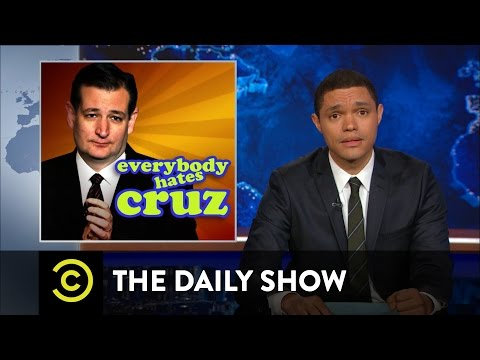 The Daily Show - Ted Cruz's Treasure Trove of Raw Footage