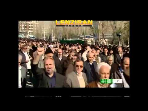 Demonstration in Tehran  after Friday Prayer for publication of prophet caricature in France