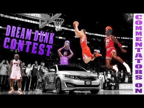 Commentators On - Dream Dunk Contest Lineup | Ft. Shady00018, ErnC05, Aiirxjones, dCoopSon and more!