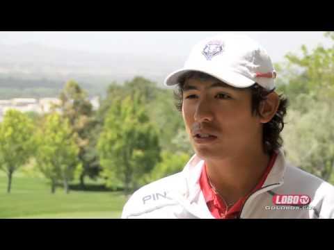 2013-14 Lobo Men's Golf | Junior Gavin Green: Mountain West Player of the Year