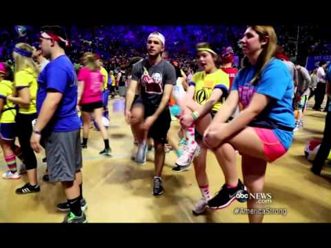 "Penn State THON 2014 ABC World News ""America Strong"""