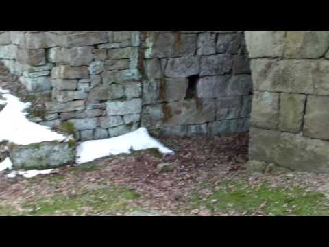 KT Travels- Climbing into an old iron furnace