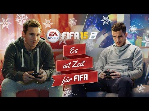 FIFA 15 Weihnachtssong mit Leo Messi und Eden Hazard