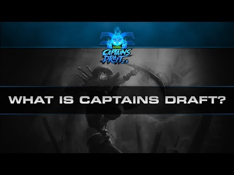 Dota 2 What is Captains Draft?