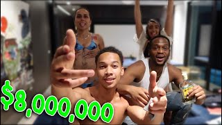 WE RENTED A $8 MILLION HOUSE AND THREW A PARTY [HELLA NIP SLIPS]  | DARNELL VLOGS