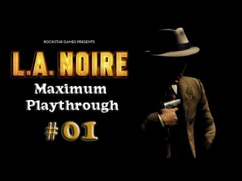 LA Noire Detonado Playthrough Parte 1