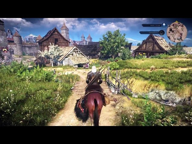 THE WITCHER 3 Gameplay Walkthrough (35 Minutes)