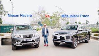 Chọn xe bán tải nào trong tầm giá? Mitsubishi Triton 2019 hay Nissan Navara? |XEHAY.VN|