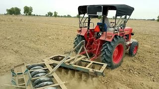 New model Mahindra 585 Di Power plus||kisan k khet m Review||Demo||Testimonial||Mahindra Tractor50hp