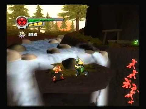 Power Rangers: Super Legends Ps2 Game - Ninja Storm 1 video