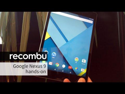 Google Nexus 9 tablet hands-on review
