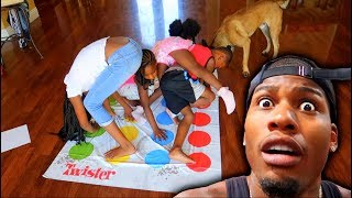 FAMILY TWISTER CHALLENGE