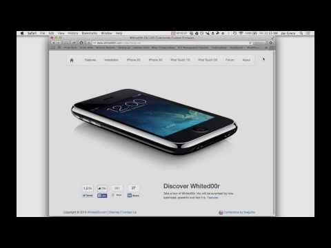 How to Install iOS7 on iPhone 2G. 3G. iPod Touch 1G and 2G w/ Whited00r