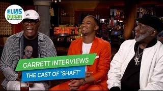 "Samuel L. Jackson, Jessie T. Usher and Richard Roundtree on Working Together on ""Shaft"""