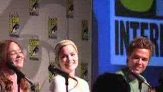 Comic-con 2007 with Matt Dallas & April Matson