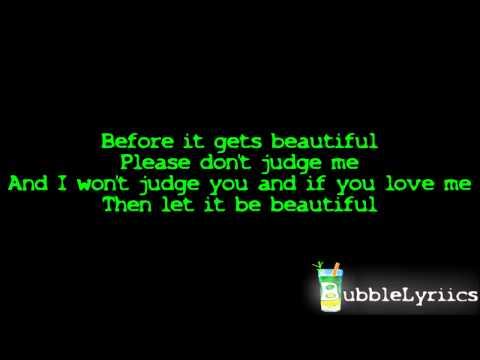 Chris Brown - Don't Judge Me [official Lyrics Video   Hd hq] video