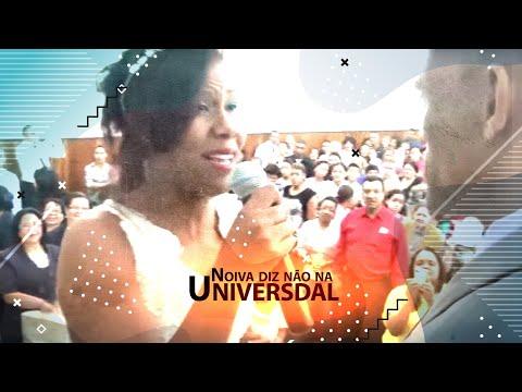 noiva diz não na universal