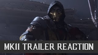 Mortal Kombat 11 - Live Trailer Reaction With Ketchup and Mustard