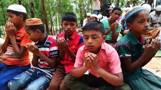 Rohingya refugees mark Eid on Myanmar-Bangladesh border