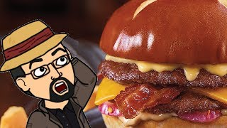 Culver's Pretzel Haus Pub Burger Review