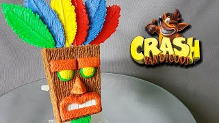 3D Pen Art Creation ♥ Mask ♥ Crash Bandicoot