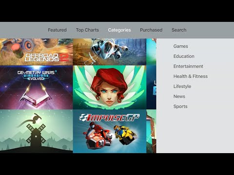 Apple Tv Updates App Store Adds Category Search