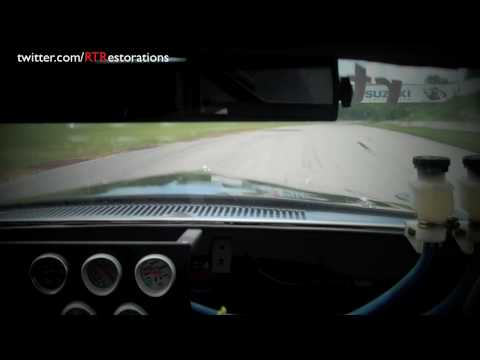 NASCAR Legend Rusty Wallace Testing Vintage 1969 Trans Am Racing Mustang at Road America Video