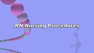 "GAVILAN RN PROCEDURES - ""CHANGING A CENTRAL LINE"""