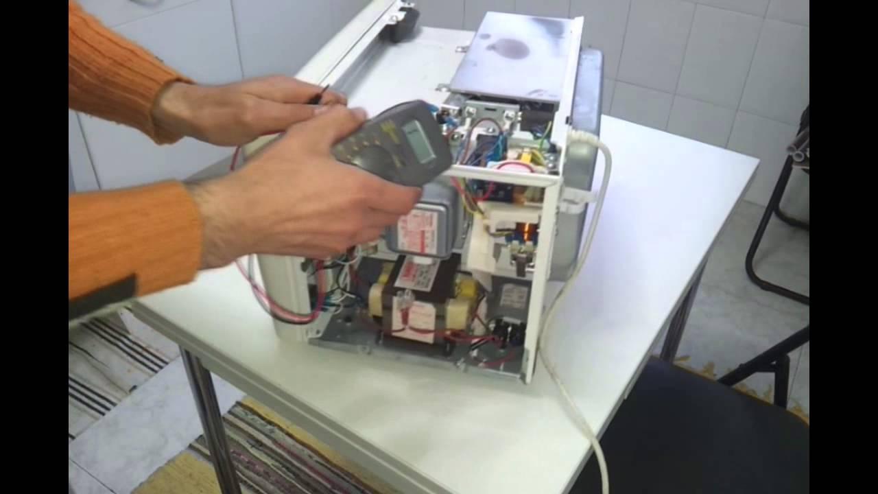 Horno de microondas reparacion