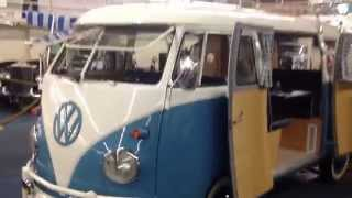 1961 VW Volkswagen Microbus Micro Bus Double Door Camper For Sale