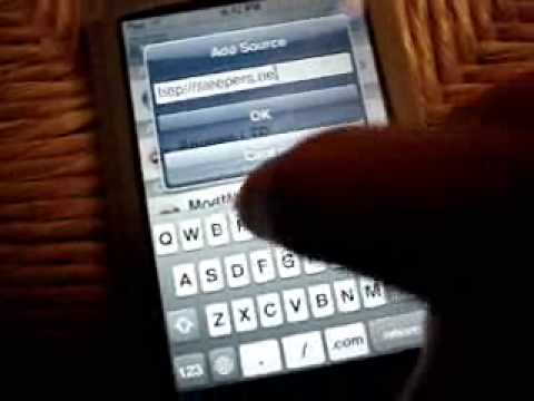 iPod Touch Flaming Skull Theme Video