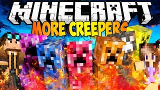 CREEPER INCREDIBILI! - Minecraft MOD : Il Laboratorio di Lyon