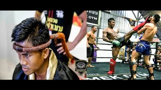👊Buakaw Bachameck - training class for Muay Thai fight