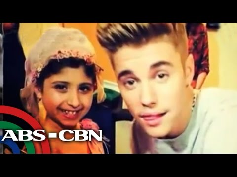 Justin Bieber Grants Wish Of Kid With Cancer video