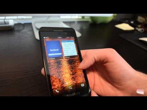 Review BlackBerry Z10 en español