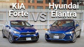KIA Forte VS Hyundai Elantra - Frente a Frente