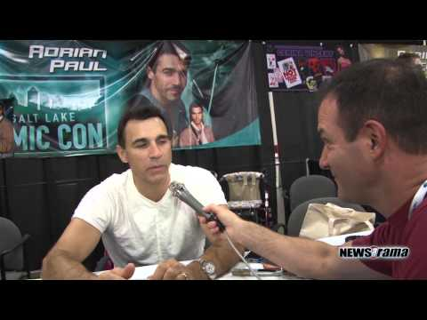 Adrian Paul at the SLC Comic-con 2013