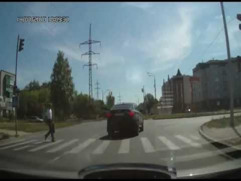 Krieviski, necenzēti par BMW vadītājiem