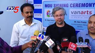 Creative Multimedia andamp; Van Arts MOU Signing Ceremony