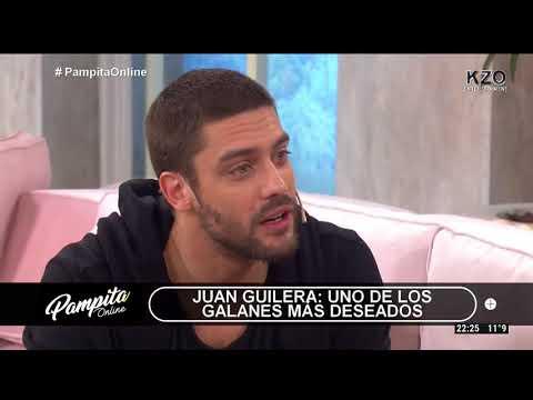 Juan Guilera en Pampita Online