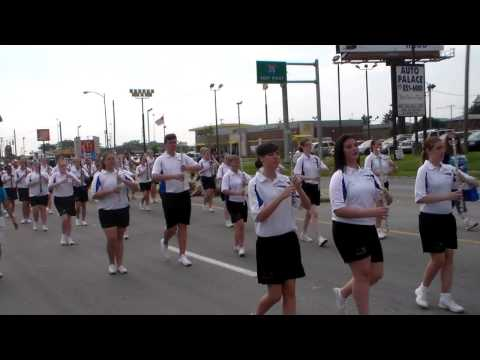 4th of July Parade~Lincoln Village. 6/28/14: Central Crossing High School