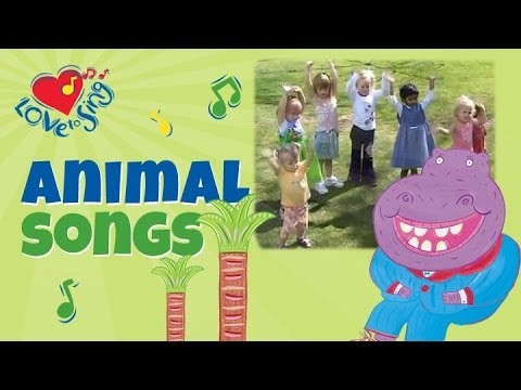 Hippo Song Hippo Dance   Children Love To Sing Kids Songs video