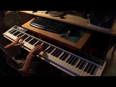 Эпидемия - Всадник из льда (piano cover Dmitriy Kubyshkin)