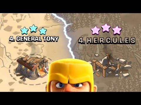 GENERAL TONY vs HERCULES!! - Clash Of Clans - WHO WILL WIN!?