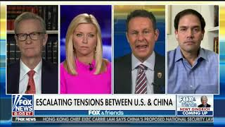 Rubio Joins Fox & Friends to Discuss Reopening, Small Business Aid, China, & US Intelligence Matters