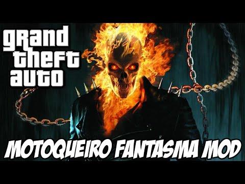 GTA - MOTOQUEIRO FANTASMA MOD MUITO FODA