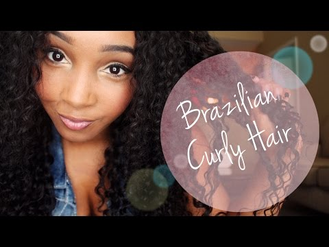 Brazilian Deep Curly Wig with Lace Closure (VIP Beauty Hair)