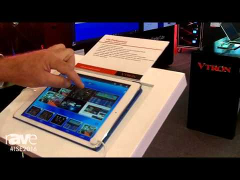 ISE 2016: VTRON Technologies Talks About VIS Professional Interactive System